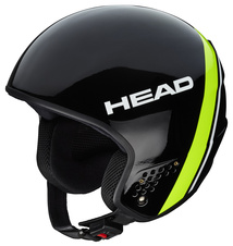 Lyžařská helma Head STIVOT RACE CARBON  Black/lime   18/19