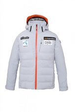 Phenix Norway Alpine Team Hybrid Down Jacket with badges (silver)