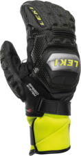 Rukavice Leki WORLDCUP RACE TI S SPEED SYSTEM MITT black/ice lemon 19/20