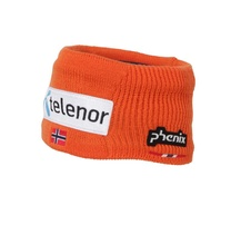 Phenix NORWAY ALPINE TEAM HEAD BAND (with Badges) vivid orange 19/20