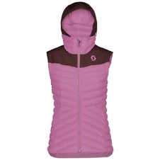Scott INSULOFT WARM VEST (red fudge/cassis pink)  20/21