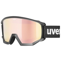 Lyžařské brýle Uvex ATHLETIC CV black (mirror rose/colorvision orange) 20/21