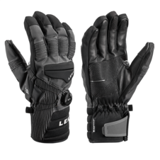 Rukavice Leki PROGRESSIVE TUNE S BOA® MF TOUCH (charcoal/black) 20/21