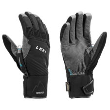 Rukavice Leki TOUR PRO V GTX (black-chrome-cyan) 18/19