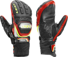 Rukavice Leki WORLDCUP RACE TI S MITT SPEED SYSTEM (black-red-white-yellow) 18/19