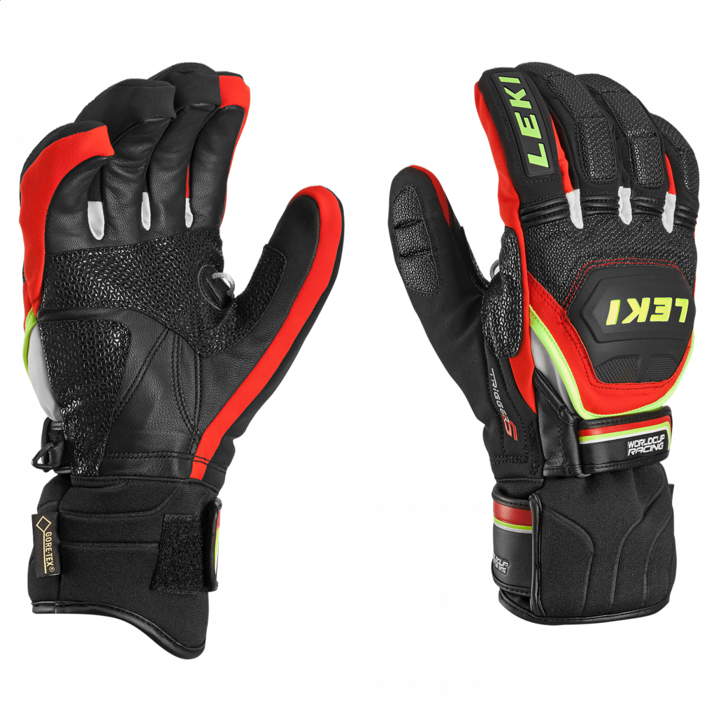 Leki WORLDCUP RACE COACH FLEX S GTX (black-red-white-yellow) 18/19