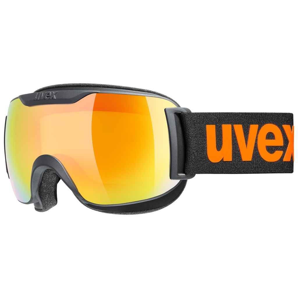 DOWNHILL 2000 S CV black (mirror orange/colorvision yellow) 19/20