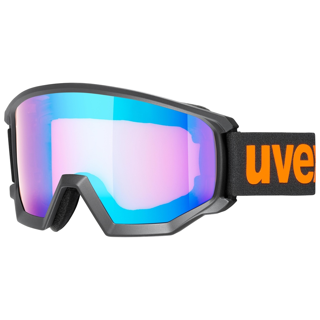 ATHLETIC CV black (mirror blue/colorvision orange) 19/20