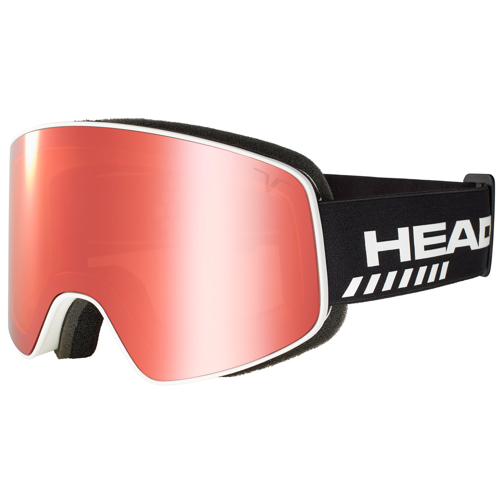 Head HORIZON TVT RACE + SPARE LENS (red) 19/20