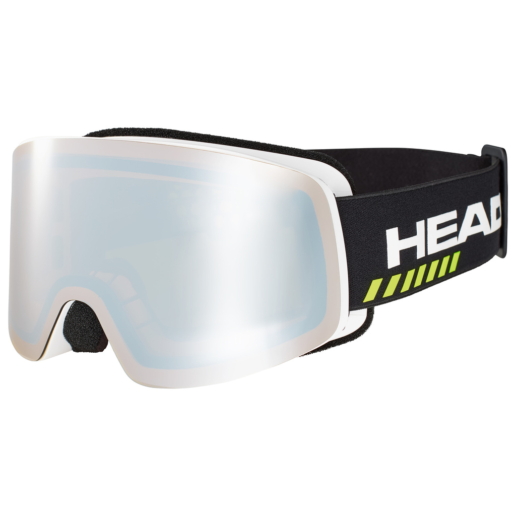 Head INFINITY RACE + SPARE LENS (black) 20/21