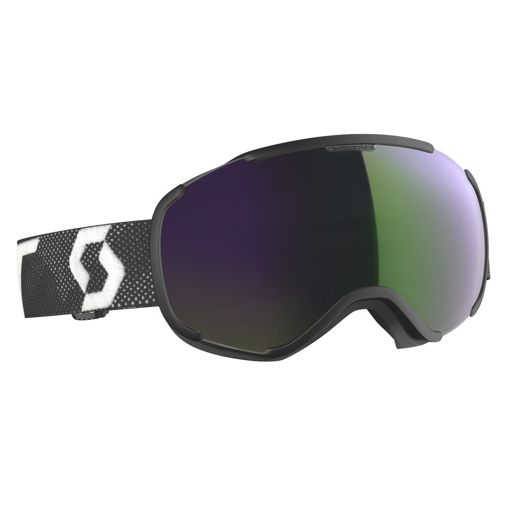 Scott FAZE II black/white (green chrome) 19/20