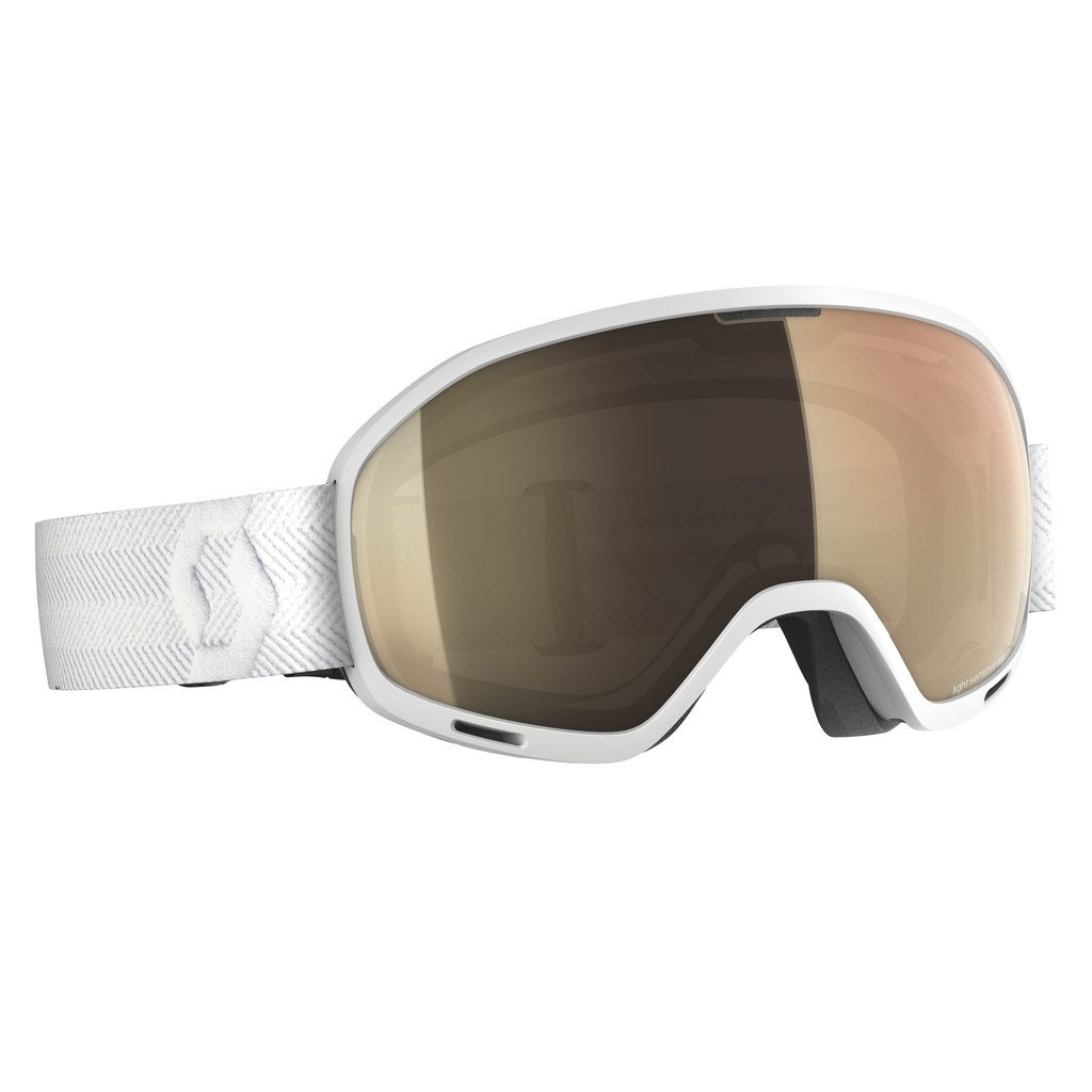 Scott UNLIMITED II OTG LS white (bronze chrome) 19/20